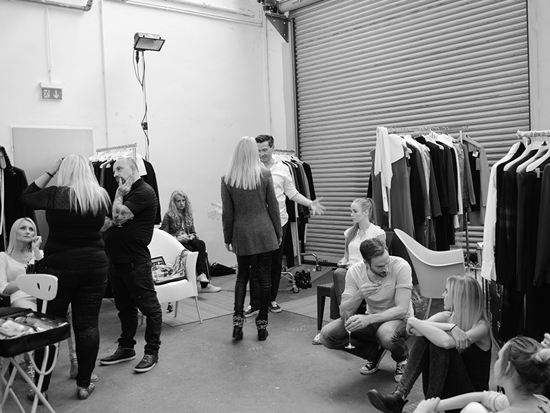 Eventshooting Modenschau Backstage