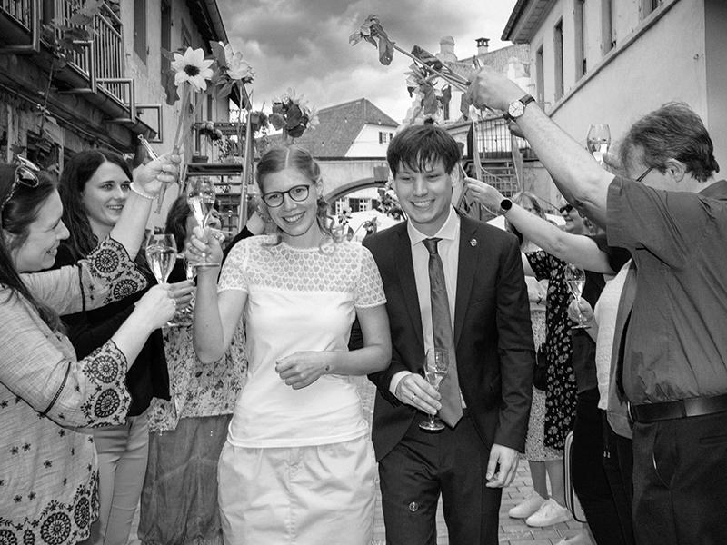 Hochzeit Empfang