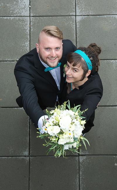 Hochzeit Paaraufnahmen