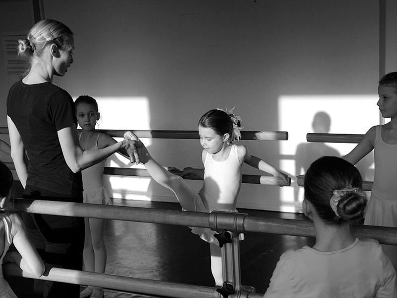 Imageshooting Ballettschule