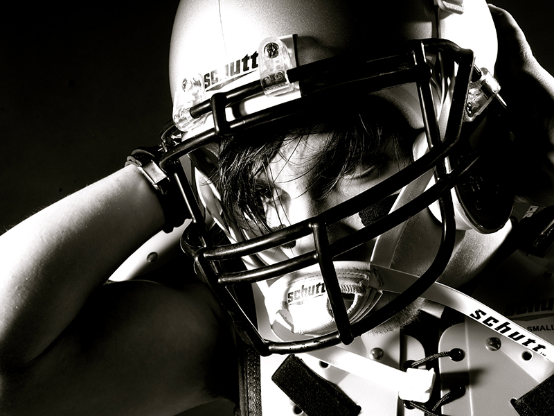 Portraitshooting American Football